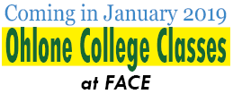 Ohlone College Courses at FACE