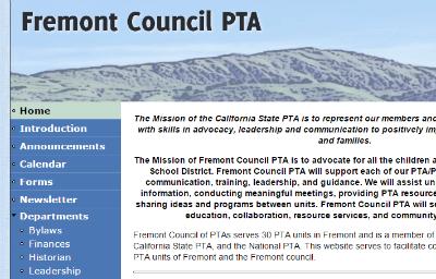 Students & Parents / PTA - Fremont Council